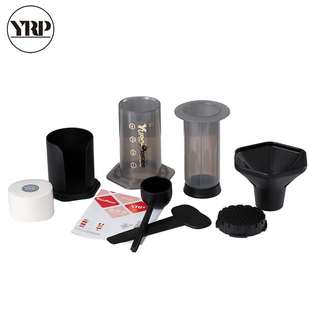 Yuropress Portable Coffee Maker French Press Air Espresso Machine Reusable Filter And 400
