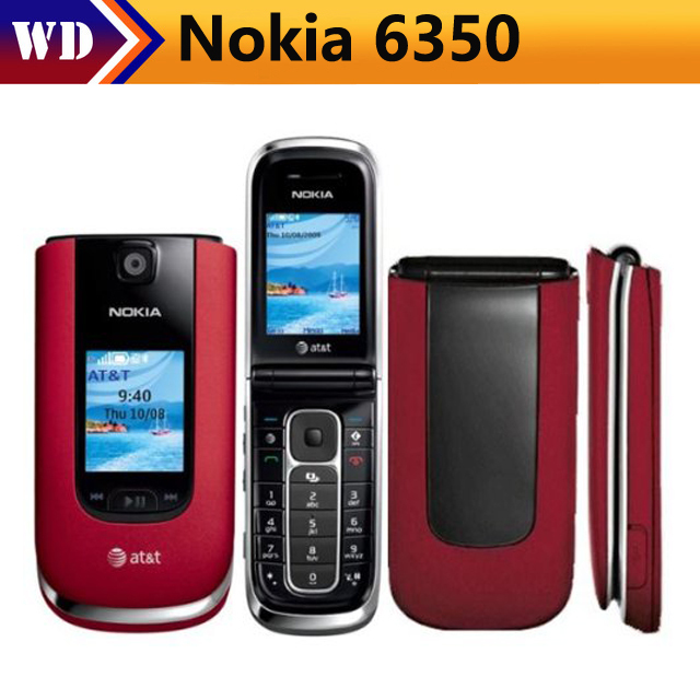 Nokia Flip Phone >> Nokia 6350 Unlocked Gsm Flip Phone With Second External Tft Display