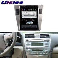 Liislee 10,4 дюймовый Android для Toyota Camry 2007 ~ 2011 Автомагнитола Аудио Видео Мультимедиа dvd плеер WI FI gps navi навигации