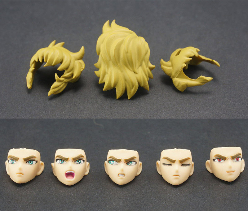 MC parts for <font><b>Bandai</b></font> <font><b>Saint</b></font> <font><b>Seiya</b></font> <font><b>Cloth</b></font> <font><b>Myth</b></font> EX Gold Leo Aiolia image