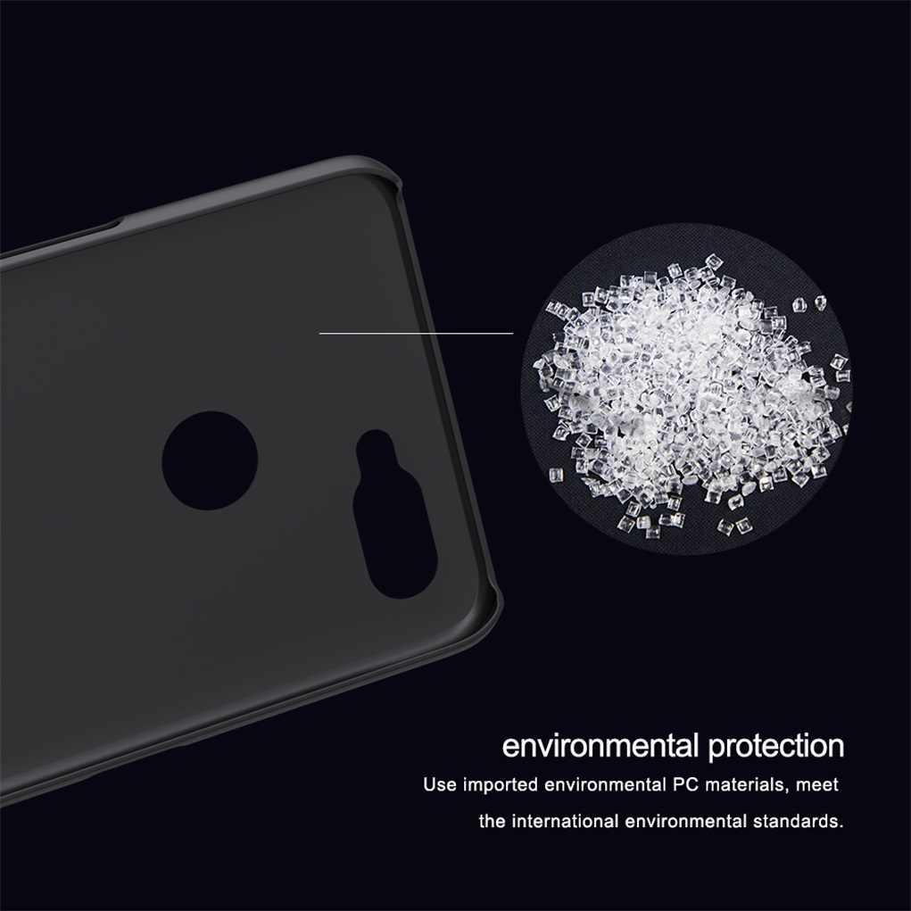 newest e3e0c e4ff7 Realme 2 Pro Case Oppo realme 2 pro Cover NILLKIN Super Frosted Shield  Matte PC back cover slim case gift holder for realme2 pro