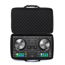 лучшая цена New Protective EVA Hard Travel Pouch Portable Box Cover Bag Case for Native Instruments Traktor Kontrol S2 Mk3 DJ Controller