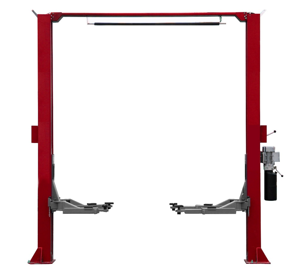 hight resolution of clear floor car lift design manual lock release two side lifting equipment 2 post auto lifter