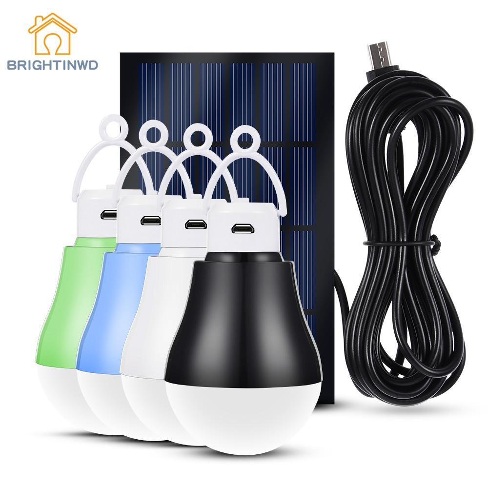 LED Solar Lamp For Garden Decoration Path Lights Solar Bulb Pannel Energy System Sunlight Home Street Lighting Ip55 Emergency