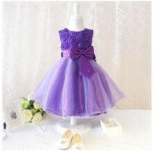 6 color girls party wear dress kids flower lace children girls elegant ceremonies wedding birthday dresses teenagers prom gowns