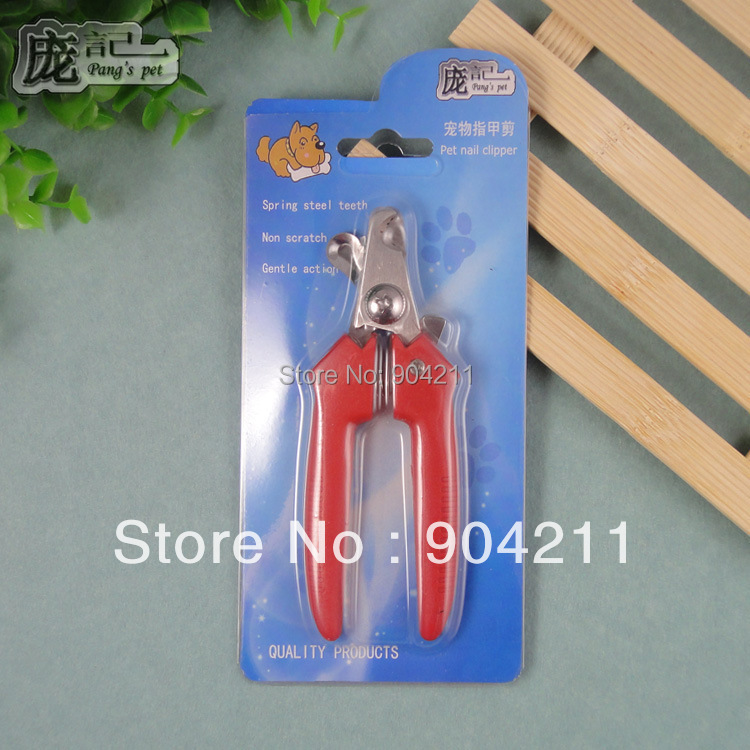 2017 on sale pet dog straight&bent handle nail clippers cat nail ...