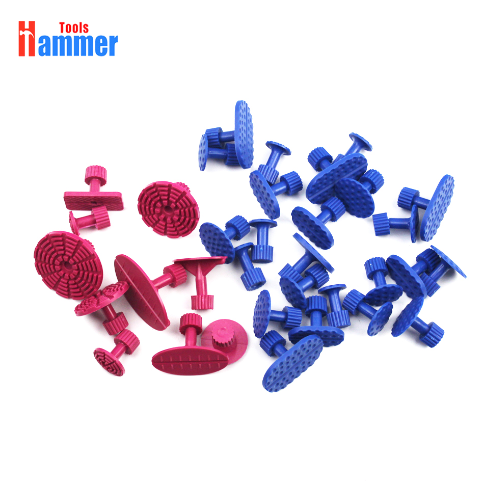 35Pcs Car Paintless Dent Repair PDR Puller Tools Plastic Glue Tabs Removal Set