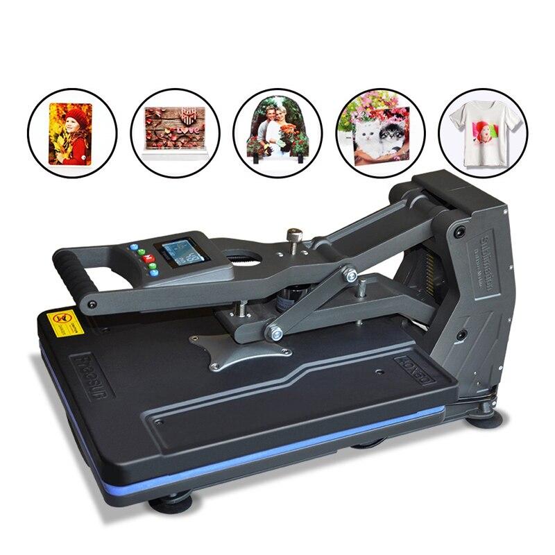 Multifonction ST-4050B 40x50 cm T-shirt Presse Machine sans Hydraulique Presse À Chaud Machine pour Étui De Téléphone/Sac/ puzzle/Roche/Verre