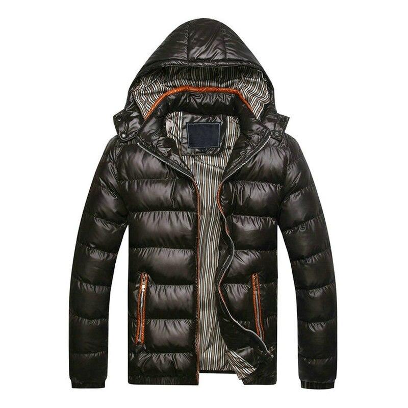 2018 Autumn Winter Jacket Men Casual Slim Fit Hooded Spring Parka Men Warm Male Winter Coats