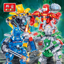 [small particles] buoubuou deformation machine Orc assembling creative building blocks set teach boys toys diamond