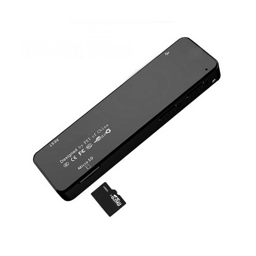 Cámara grabadora de voz Vandlion A2 1080P unidad Flash USB Mini dictáfono Digital grabación de sonido cámara de Audio soporte tarjeta TF