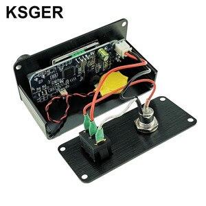Image 5 - KSGER T12 Soldering Station Mini STM32 V2.1S DIY OLED Controller FX9501 Handle Aluminum Alloy Case T12 Iron Tips Stainless Steel