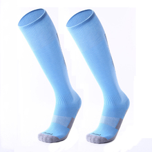 Новые футбольные носки детские футбольные носки Спортивная одежда выше колена Футбол Хоккей регби бег чулок длинные спортивные носки мужские
