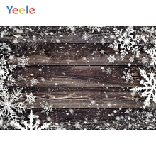 Yeele Wood Natural Background Snow Decor Painting Photography Backdrops Personalized Photographic Backgrounds For Photo Studio