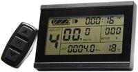 Nuevo 24V 36V 48V bicicleta eléctrica Panel de Control inteligente LCD3 pantalla para ebike