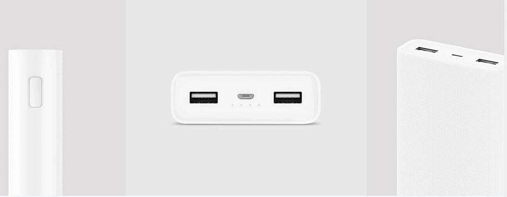 Xiaomi Mi Powerbank 2 20000 mAh Power Bank External Battery Micro USB Portable Bateria Externa Portable Charger 20000mAh (1)
