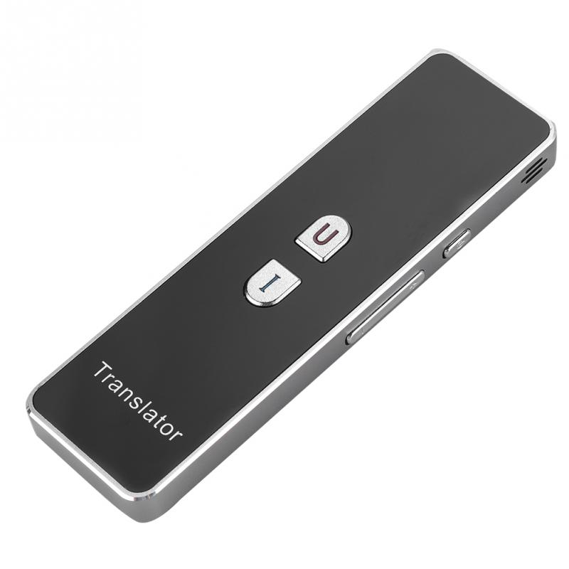 Portable Translation 2 4G Bluetooth Pocket Interpreter Intelligent Two Way Real Time Voice Smart Translator Support