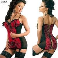 Nuovo Sexy Bambolette Degli Indumenti Da Notte Delle Donne Erotic Lingerie Vestito Da donna, Pigiami Caldi Lingerie Sexy mini abiti Plus size S-6XL