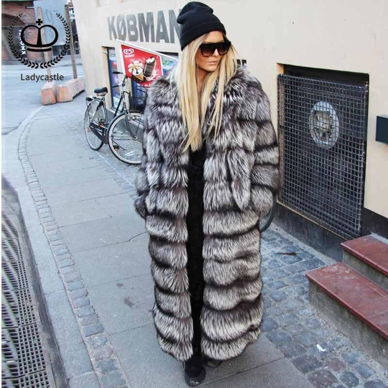 Nouvelle Fourrure Pour Fc Épaissir Manteaux Manteau Luxe De Parka Arrivée Silver Mode X long Pelt Recommander Chaud Femmes 032 Réel Fox Complet 2018 d7YqUd
