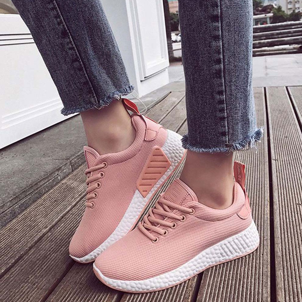 Fashion Women's Breathable Mesh Outdoor Sport Running Shoes Anti-Slip Sneakers 2017brand sport mesh men running shoes athletic sneakers air breath increased within zapatillas deportivas trainers couple shoes
