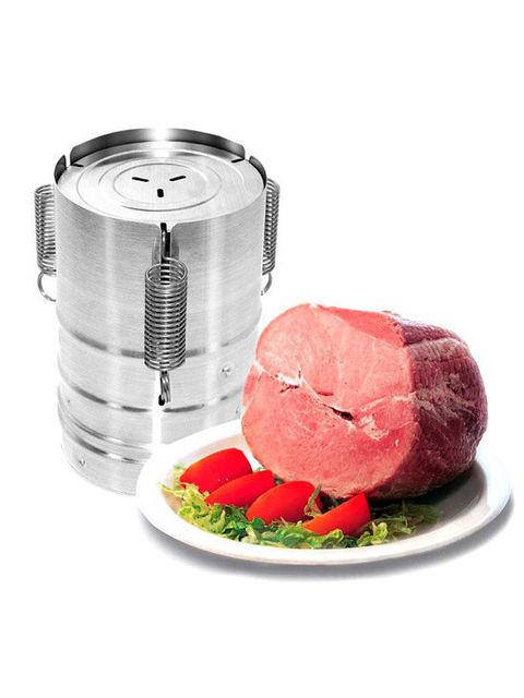 Stainless steel ham press maker machine