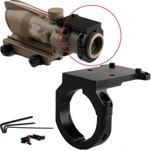 Охотничьи аксессуары тактическая усиленная миниатюрная RMR красная точка рефлекторное крепление RM38 для Trijicon ACOG Riflescope 3.5x 4x