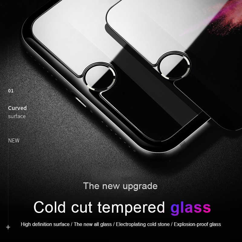 Ochronne szkło hartowane na ekran dla apple iphone 4 4s 5 5s 5c SE 6 6s 6 plus 7 4.7 cal 7 plus 5.5 cal szkło przezroczysta folia