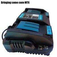 Adequado para Makita ferramenta elétrica cujo Li-ion bateria Duplo Porta USB Plug UE 4A Duplo Carregador de bateria 7.2 V 14.4 V 18 V BL1830