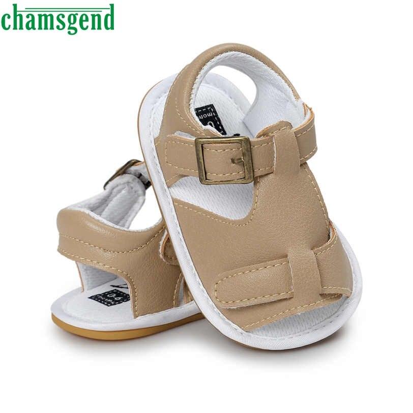 Chamsgend Best продавец Прямая поставка для маленьких мальчиков обуви детская обувь для девочек Повседневная обувь против скольжения мягкая подо...