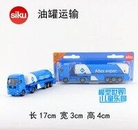 Gift 17cm 1 64 SIKU 1626 Oil Tanker Transportation Alles Super Car Plastic Model Collection Game