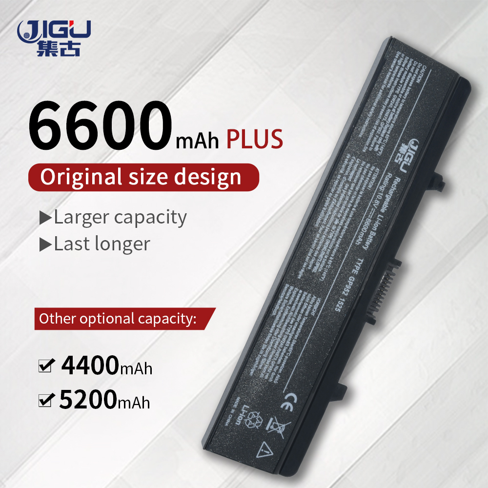 JIGU Battery For Dell Inspiron 1525 1526 1545 1546 1750 GW252 GW240 GP952 PP42L PP29L PP41L K450N D608H RU583JIGU Battery For Dell Inspiron 1525 1526 1545 1546 1750 GW252 GW240 GP952 PP42L PP29L PP41L K450N D608H RU583