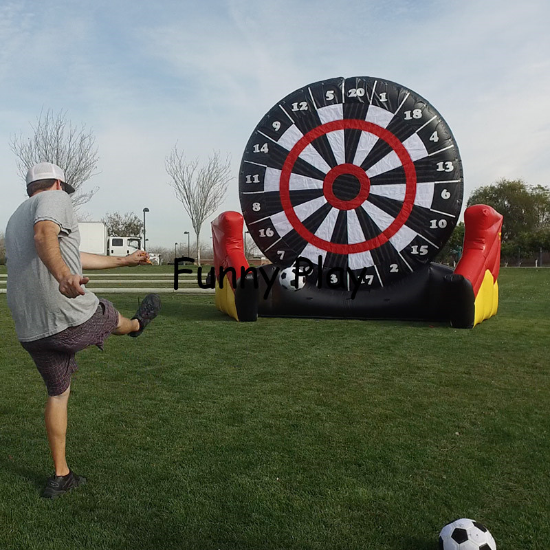 Aliexpress Com Buy G319 Soccer Shooting Custom: Commercial Use Inflatable Dart Game, Inflatable Soccer