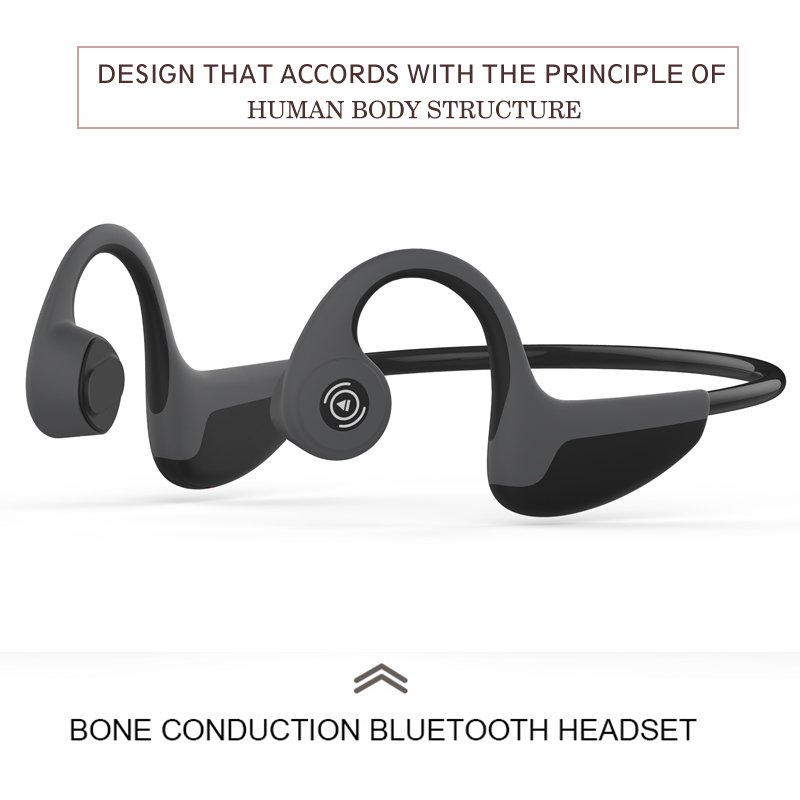 Z8 cuffie Bluetooth kulaklık Bone Conduction gaming Headset Wireless earphone Run Sports bass Headphone With Mic fone de ouvido in Bluetooth Earphones Headphones from Consumer Electronics