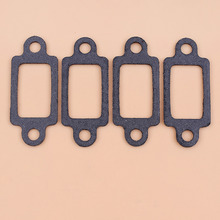 4pcs/lot Exhaust Muffler Gasket For Stihl 044 046 064 066 MS440 MS460 MS640 MS660 Chainsaw 1125 149 0601 2016 new 066 064 ms640 ms650 ms660 dual port exhaust muffler new chainsaws chainsaw parts kit