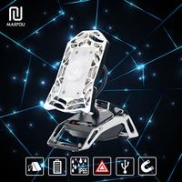 Rechargeable LED Floodlight IP65 Spider Design Mobile Task Light 180 Degree Flexible Angle USB cable Garage Portable Spotlight