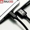 Raugee para oneplus two 2 1/1. 5 m usb 3.1 tipo c cable rápida tipo-c usb cable de carga y transferencia de la fecha para oneplus tres 3 3 t smartphone