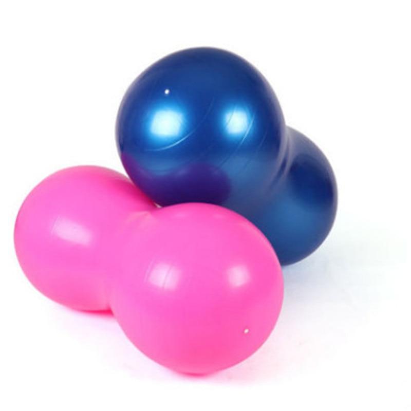 Large 90*45cm Anti Burst Yoga Ball Peanut Shape Sports Gym