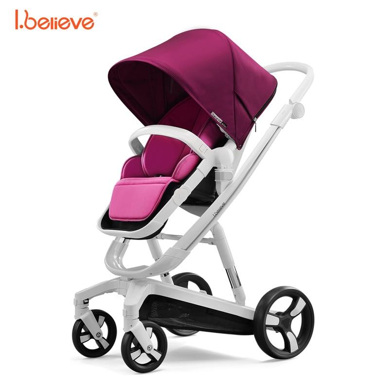 I.believe Baby Stroller I-S035A - ბავშვთა საქმიანობა და აქსესუარები - ფოტო 5
