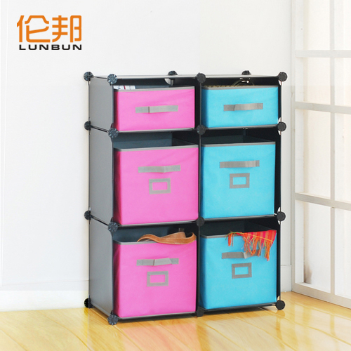 Eco friendly toy storage cabinet baby clothing sundries