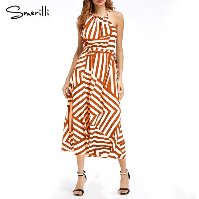97900469aa0f13 Vrouwen Zomer Lange Jurk 2018 Sexy Casual Geometrische Print Boho Lange  Maxi Beach Dress Avond Party