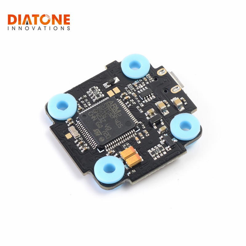 Diatone Fury F4 Flight Controller Integrated Betaflight OSD 5V 1A BEC 2-4S For RC FPV Racing Camera Drone Spare Parts Acces betaflight omnibus f4 flight controller built in osd power supply module bec for fpv quadcopter drone accessories fpv aerial pho