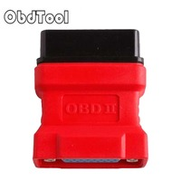 OBDII OBD2 OBD 16 PIN OBD-16PIN Connector OBD2 16Pin Adaptor For DS708 1Pcs FREE SHIP LR20