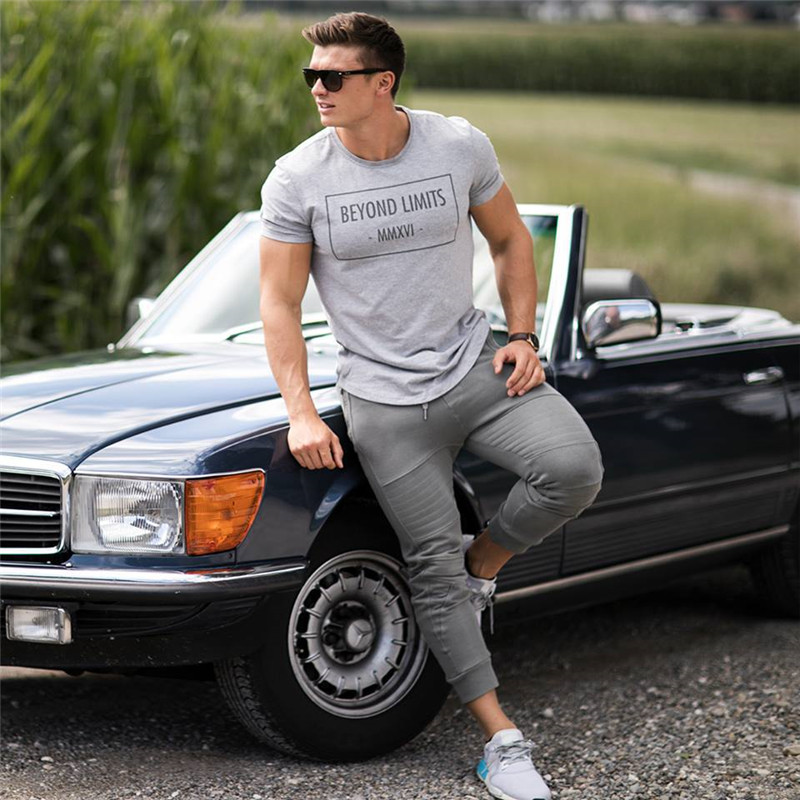 Gyms clothing men fashion Jogger Pants (3)