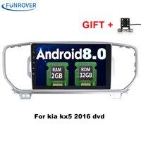 Funrover Android 8 0 2din Car Dvd Radio Player For KIA Sportage 2016 2017 Kx5 Car