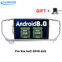 Funrover Android 8 0 2din Car Dvd Radio Player For KIA Sportage 2016 2017 Kx5 Car