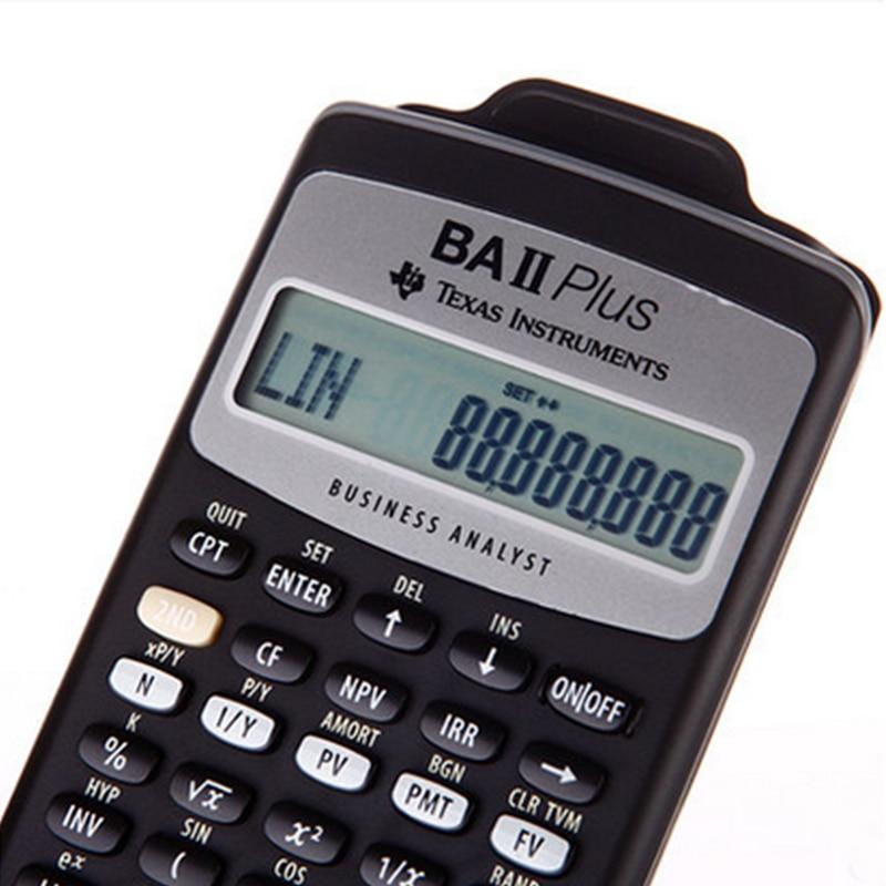 2018 İsti Satış Ti BA II Plus 12 Rəqəmsal Plastik Led - Ofis elektronikası - Fotoqrafiya 2