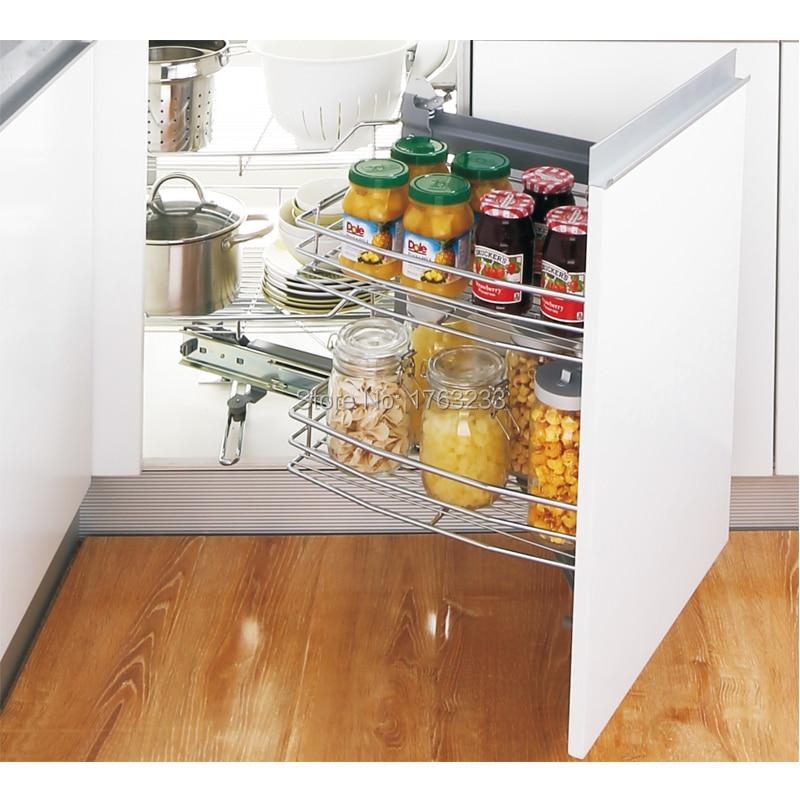 Kitchen Cabinet Magic Corner Wire Drawer Basket Soft Close