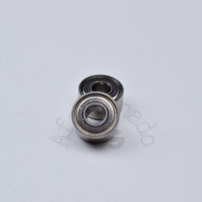 Купить с кэшбэком 693ZZ 3*8*4(mm) 10pieces bearing  Metal sealed free shipping ABEC-5 chrome steel miniature bearings hardware Transmission Parts