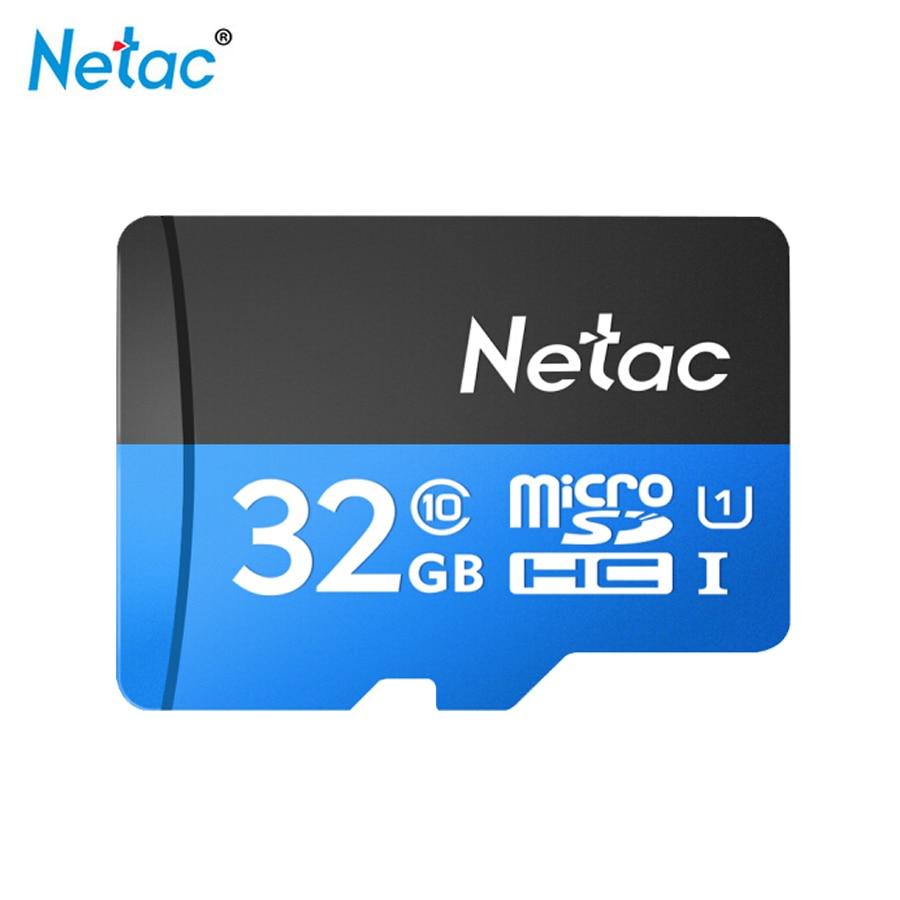 Netac P500 Micro Sd Card 32G Class 10 U1 Sdhc High-speed Memory Card Tarjeta De Memoria Tf Card For Laptop Gopro Hero Black 7
