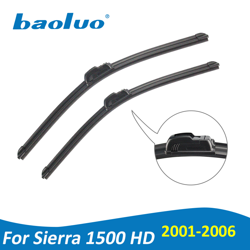 Baoluo Wiper Blades For Gmc Sierra 1500 Hd 22 2000 2017 Natural Rubber Windshield Car Accessories In Windscreen Wipers From Automobiles